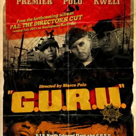 Marco Polo ft. Talib Kweli & DJ Premier – G.U.R.U.
