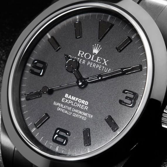 BAMFORD WATCH DEPARTMENT – ROLEX EXPLORER WATCH ALL-BLACK EDITION