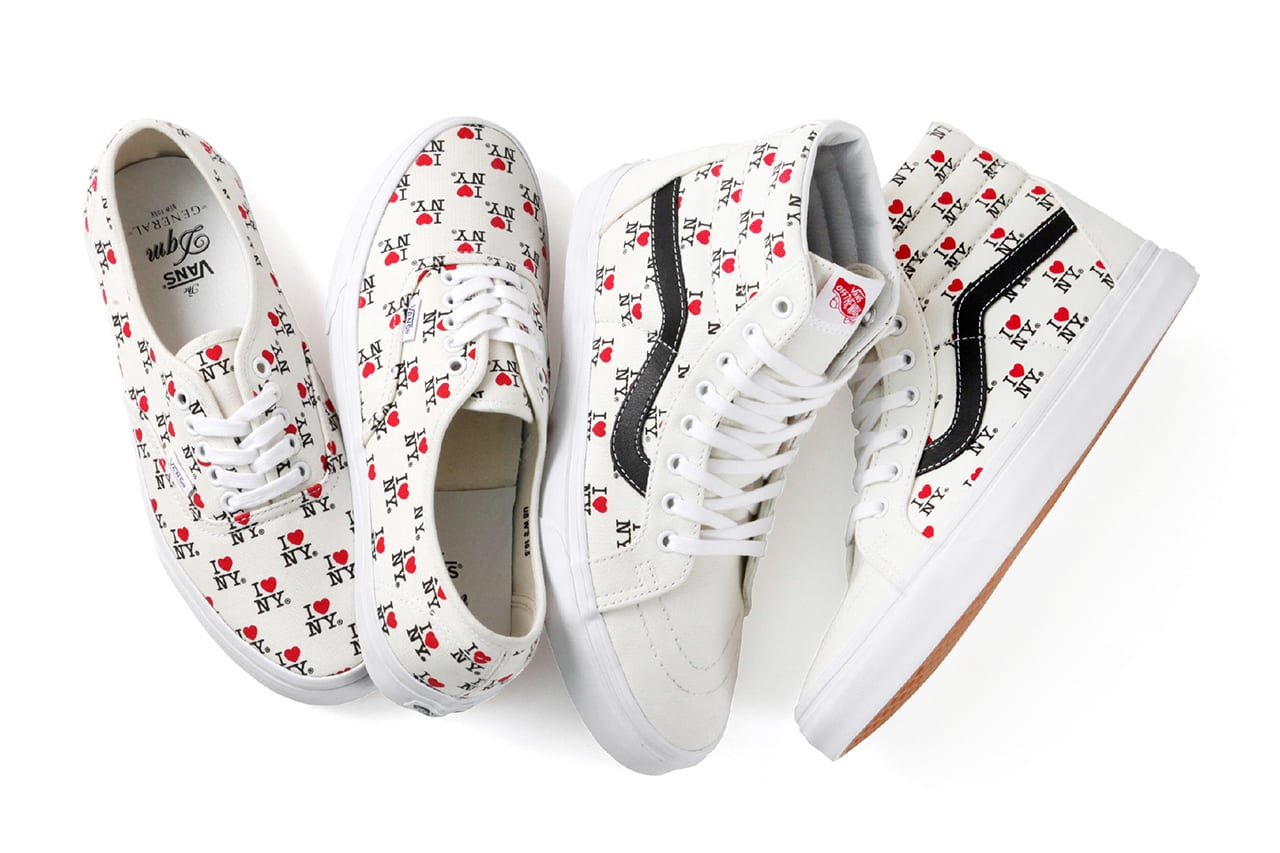 """DQM x Vans 2013 Spring/Summer """"I Love NY"""" Collection"""