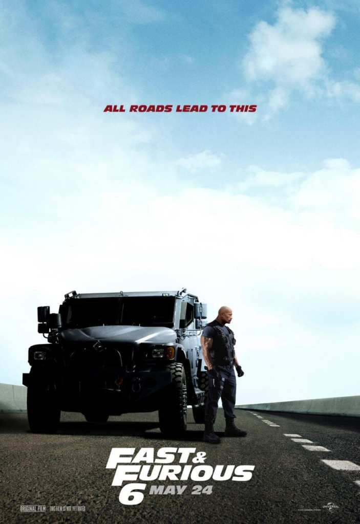 The New Dwayne Johnson Poster for Fast & Furious 6