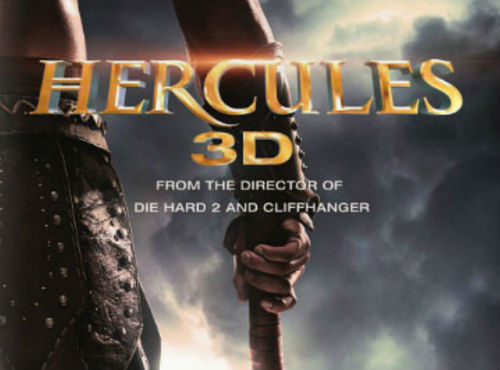 The First Poster for Hercules 3D