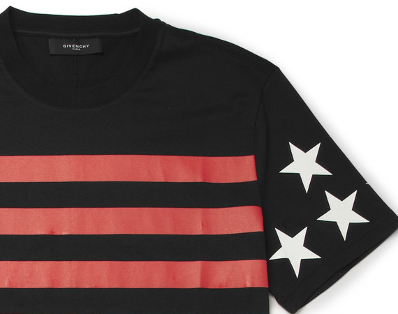 GIVENCHY – PRINTED COTTON JERSEY T-SHIRT