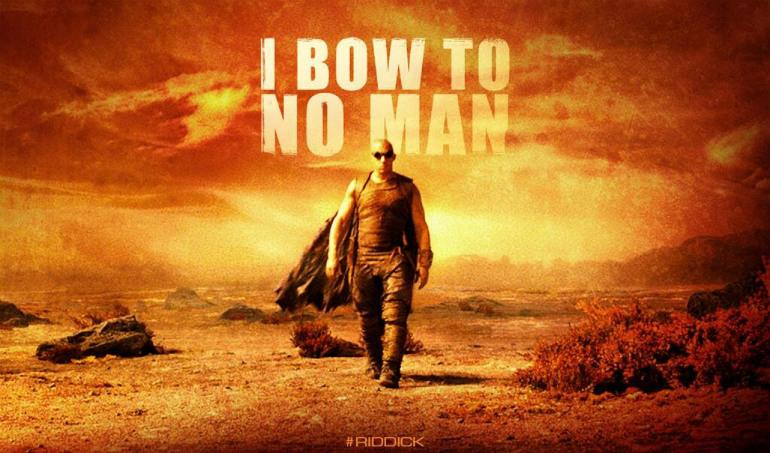 The New Poster for Riddick, Starring Vin Diesel