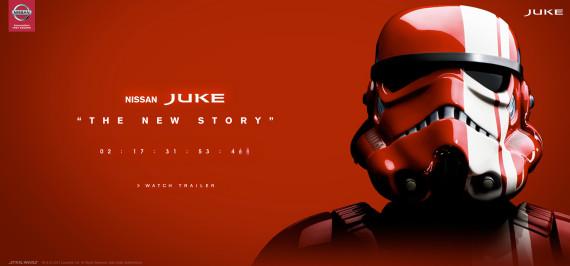 STAR WARS X NISSAN JUKE – SPECIAL EDITION - TEASER VIDEO