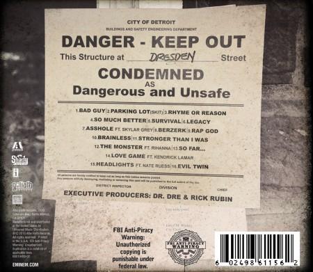 Eminem – The Marshall Mathers LP 2 (Tracklist)
