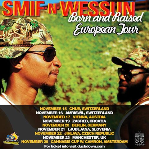 Smif N Wessun - Born and Raised - New Video and Tracklist