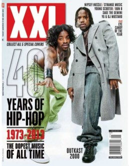 XXL's 40 Years Of Hip-Hop Covers