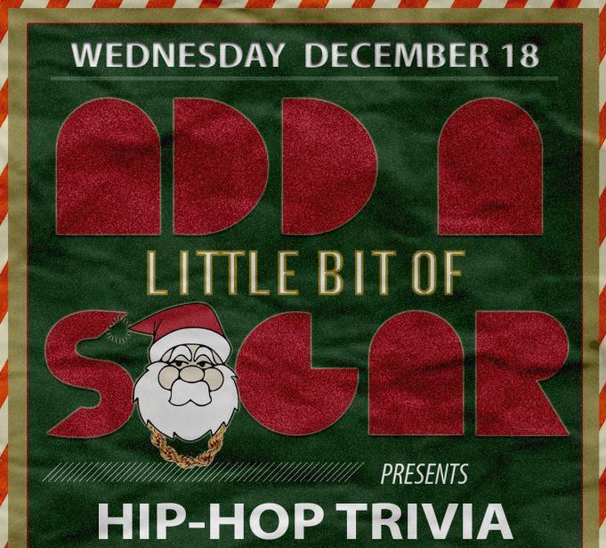 Brooklyn Bodega, Brooklyn Brewery & The Brooklyn Tap House present: HIP-HOP Trivia