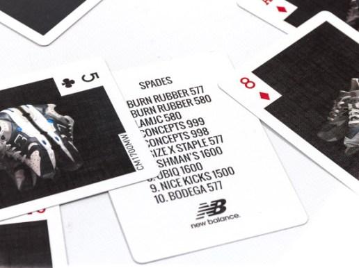 DISTINCT LIFE X NEW BALANCE X BICYCLE PLAYING CARDS