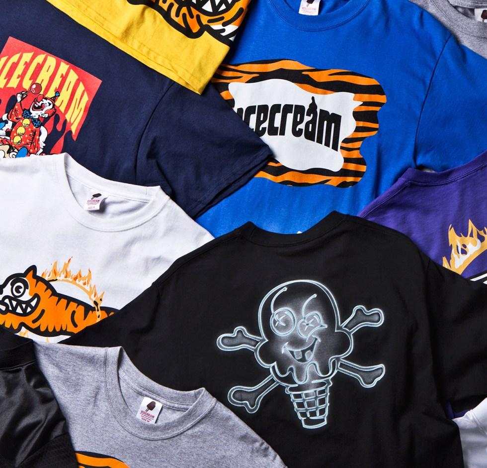 Ice Cream 2014 Spring/Summer T-Shirts