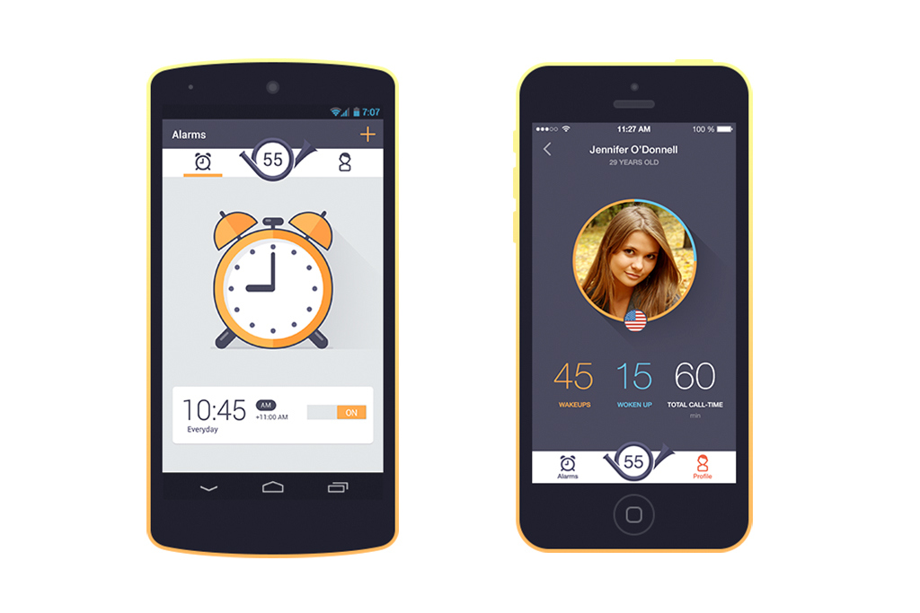 The Wakie App Plays Matchmaker Before Breakfast
