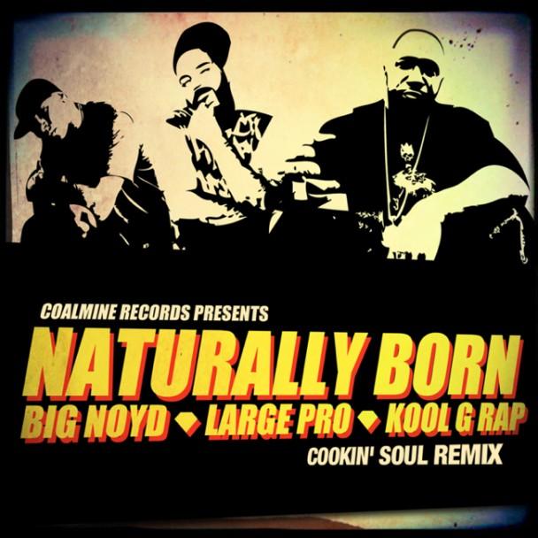 Big Noyd, Large Pro & Kool G Rap – Naturally Born (Cookin Soul Remix)
