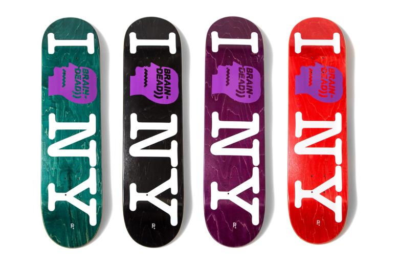 Skateboarding, Skate Decks, Brain Dead, Nepenthes NYC
