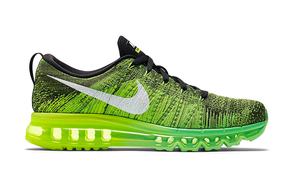"""Nike Flyknit Air Max """"Voltage Green"""""""
