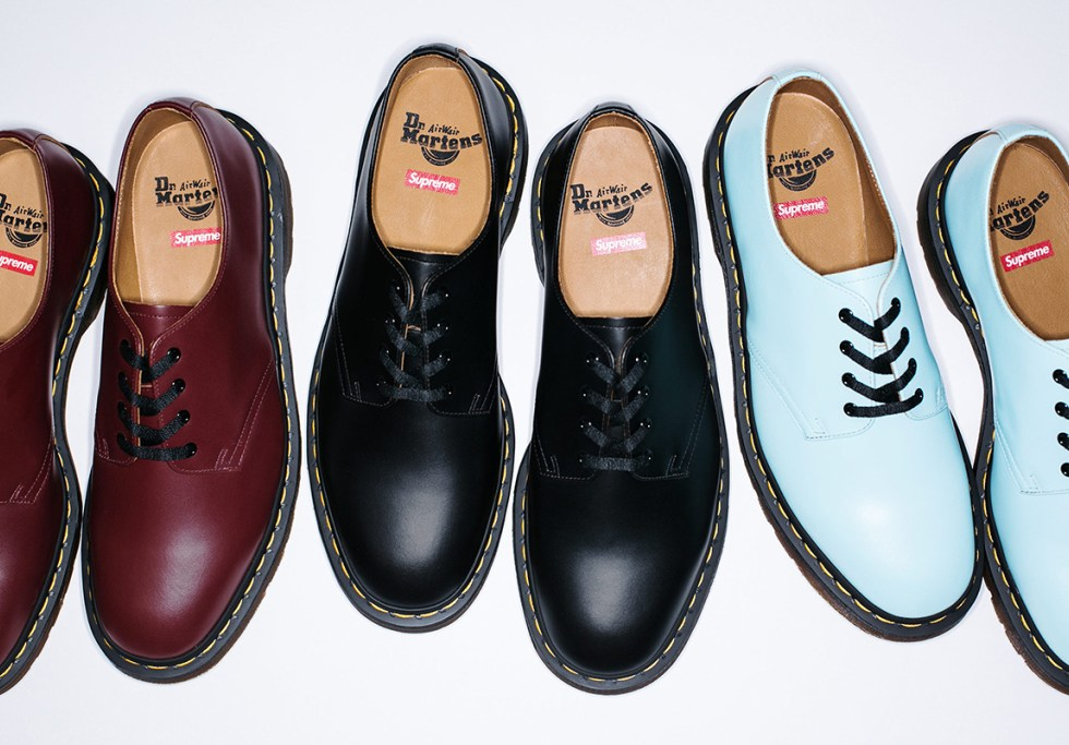 Supreme x Dr. Martens 2015 Fall/Winter Collection