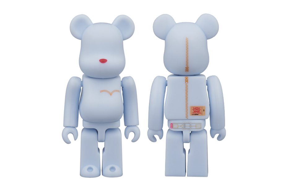 Levi's x Medicom Toy Wash Denim Bearbricks