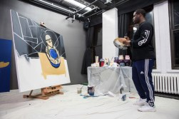 A$AP Ferg Pays Homage to A$AP Yams in Painting for Art Basel Miami Beach 2015