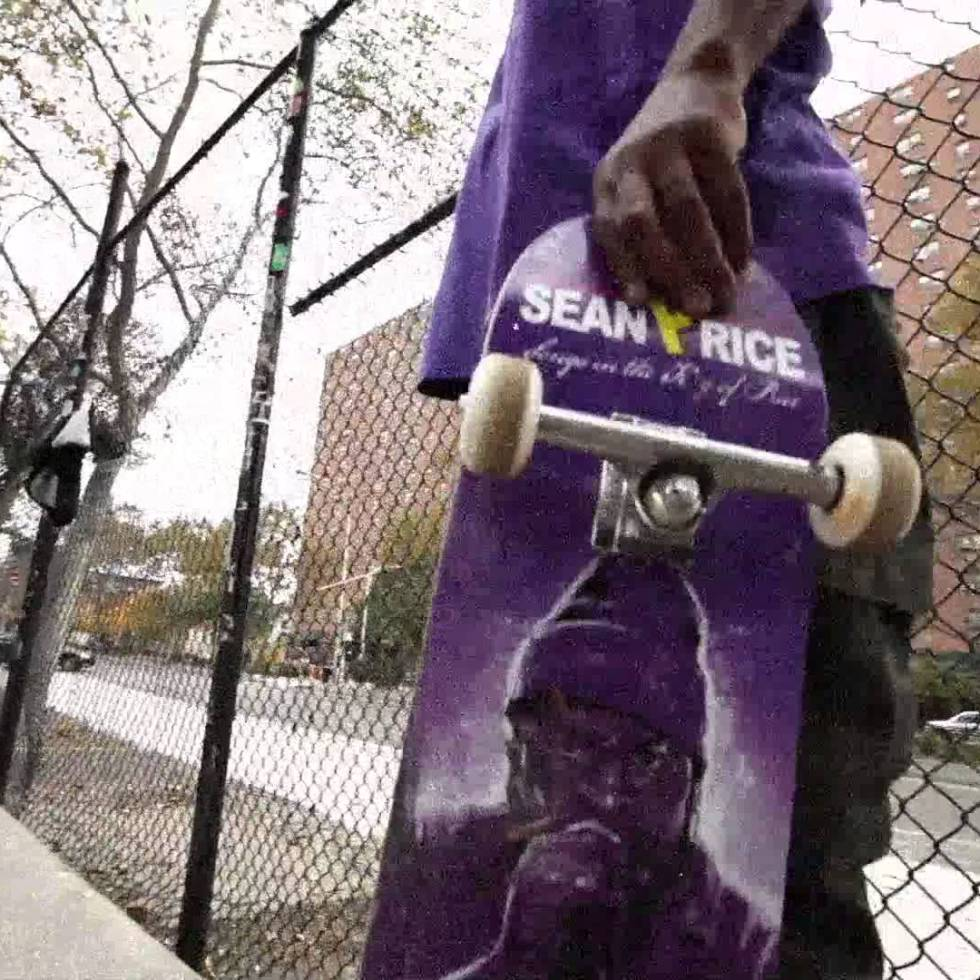 Rob Campbell Rides the Sean Price Deck in NYC