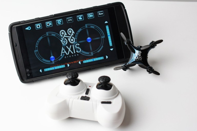 The World's Smallest Camera-Equipped Drone