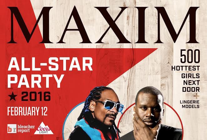 MAXIM All-Star Weekend Party