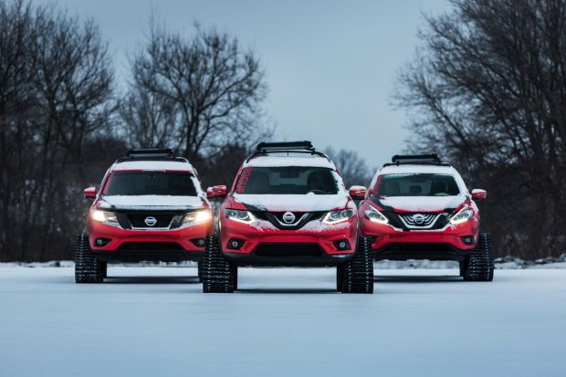 NISSAN - WINTER WARRIORS FOR CHICAGO
