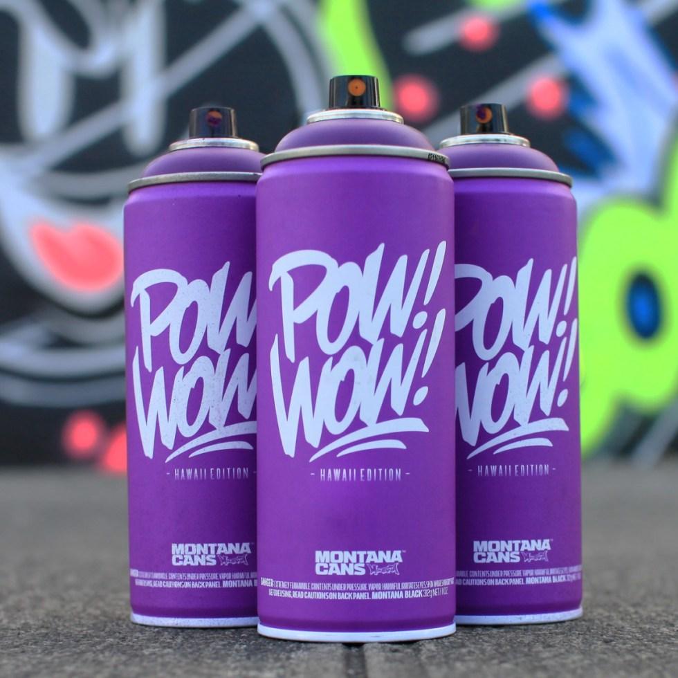 POW! WOW! Hawaii x Montana 2016 Limited Edition Spray Can