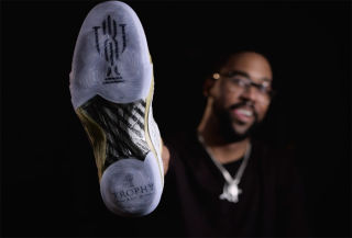 THIS AIR JORDAN 23 WILL BE AVAILABLE EXCLUSIVELY AT MARCUS JORDAN'S TROPHY ROOM