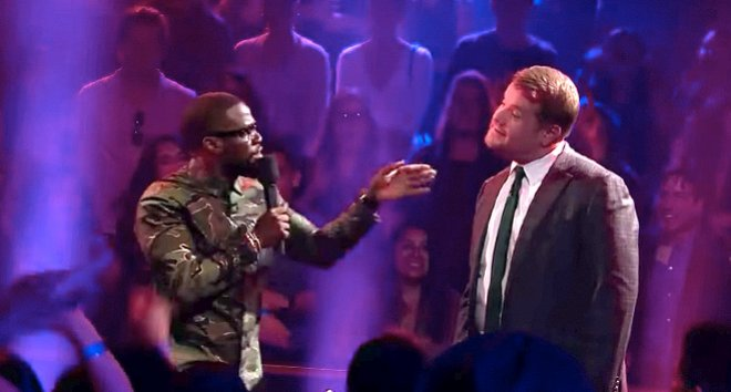 Kevin Hart and James Corden Go Blow for Blow in Epic Rap Battle
