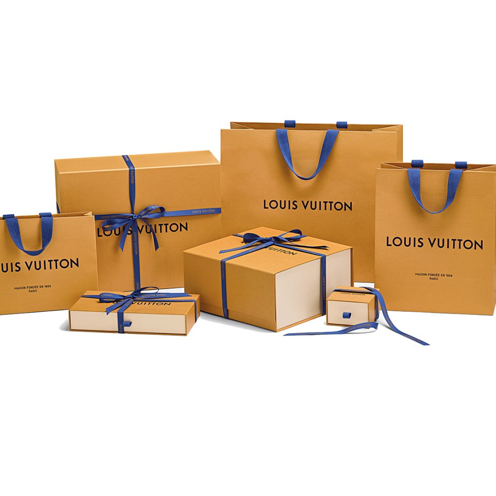 Louis Vuitton Shows us Their Imperial Saffron Packaging Range