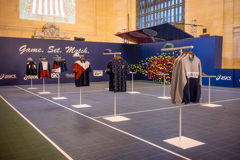 """AN INSIDE LOOK AT PACKER SHOES' """"GAME. SET. MATCH."""" POP-UP AT GRAND CENTRAL TERMINAL"""