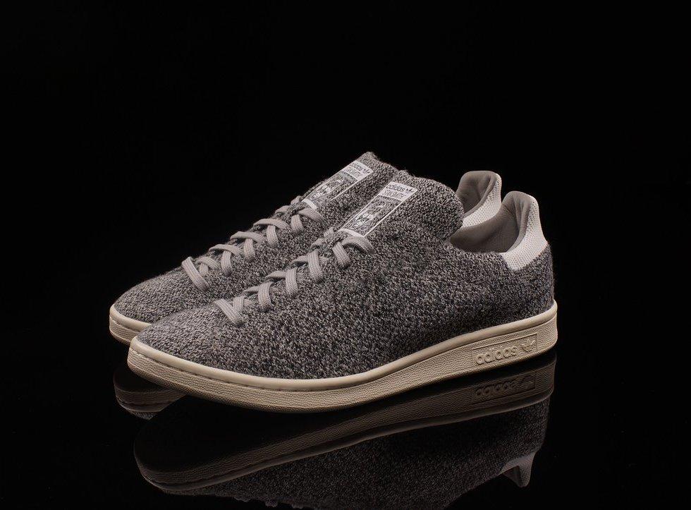 This New Grey adidas Originals Stan Smith Primeknit
