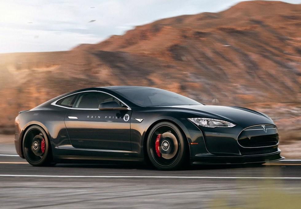 Tesla Model S Coupe Concept