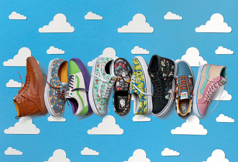 """VANS x """"TOY STORY"""" COLLABORATION"""