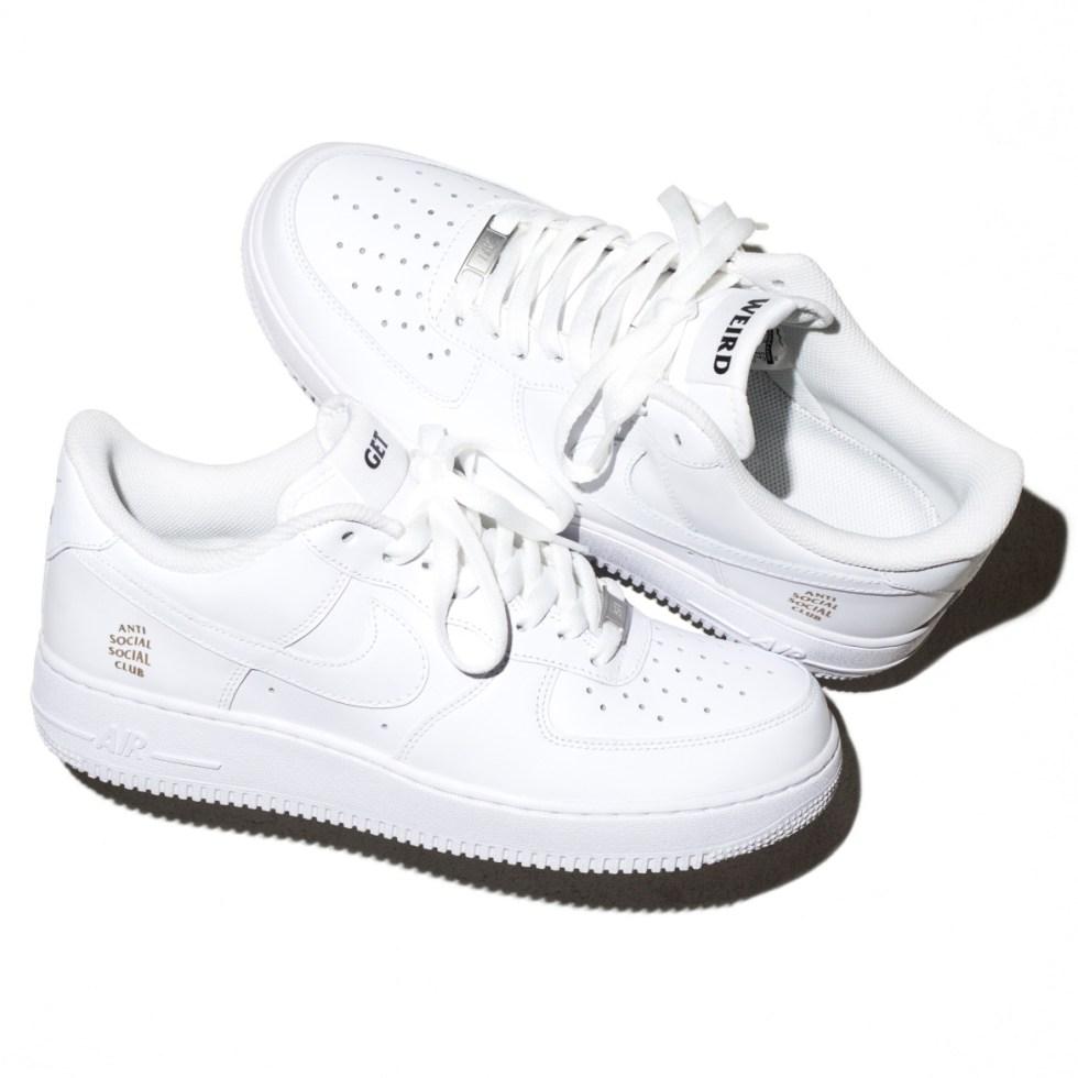 Anti Social Social Club x Nike Air Force 1 Sneaker