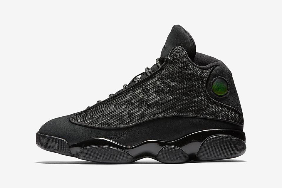 The Air Jordan 13 Black Cat Drops This Weekend