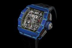 """Richard Mille Releases a Blue Quartz TPT """"Jean Todt Tribute"""" Watch Collection"""