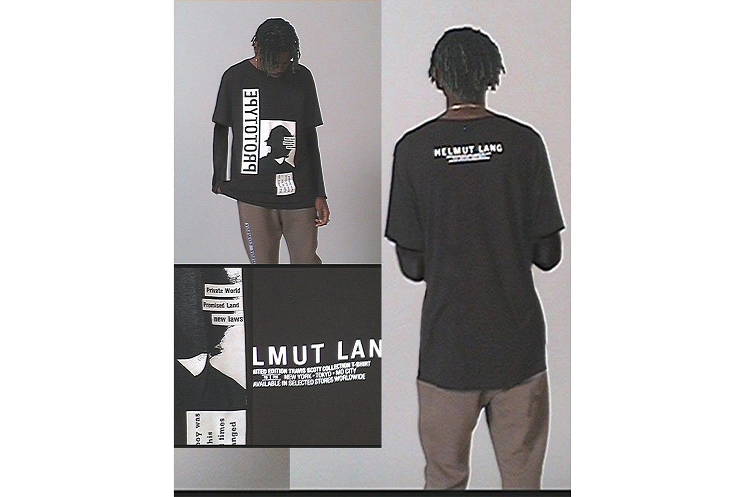 Check out the Travis Scott x Helmut Lang Collection