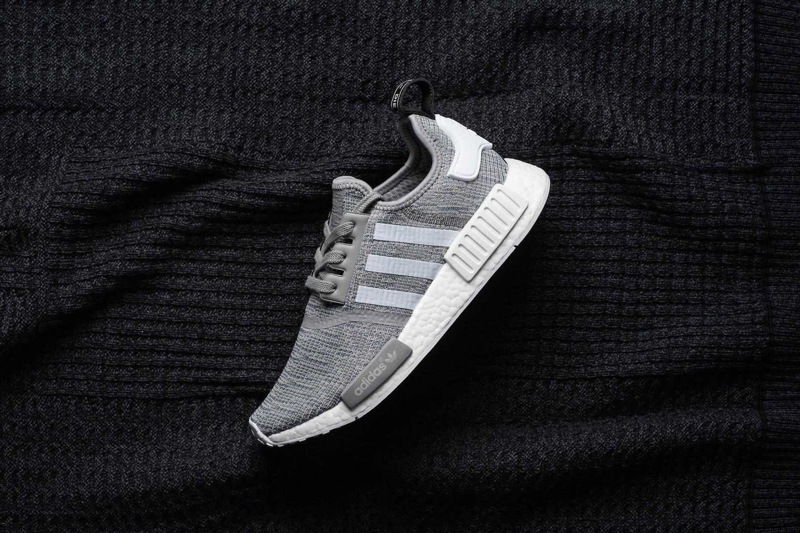 "Look at the adidas Originals NMD_R1 ""Solid Grey"""