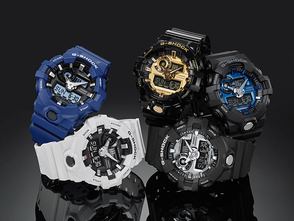 G-SHOCK LAUNCHES NEW GA-710 SERIES