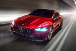 Mercedes-AMG Introduces a Four-Door GT Concept