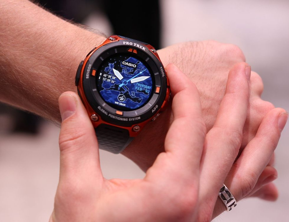 Casio's Pro Trek WSD-F20 rugged Android Wear smartwatch