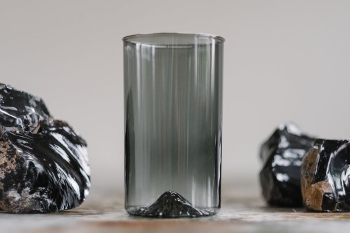 North Drinkware - Obsidian Glassware Line Replicating Famed Mountain Ranges