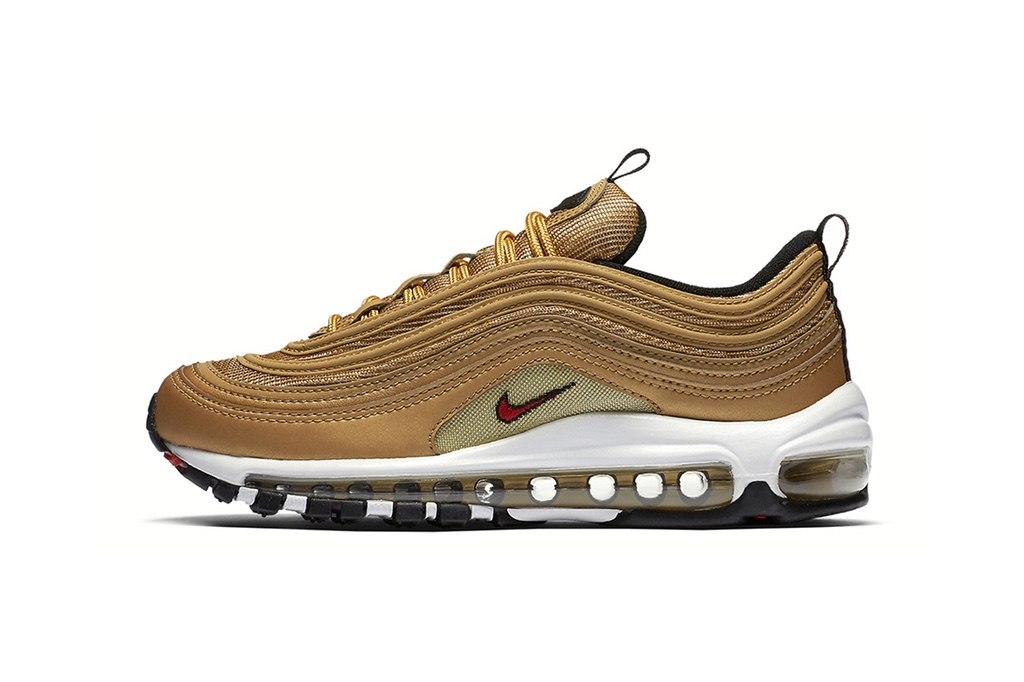 "Nike Air Max 97 ""Metallic Gold"" Returns"