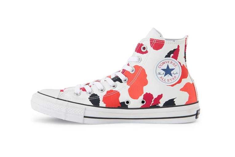 Converse's Chuck Taylor All Star Multi-Colored Paint Splatter Motif