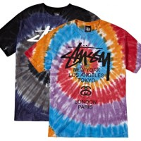 Stussy – World Tour Tie-Dye Swirls T-Shirt