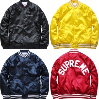 SUPREME X CHAMPION – SATIN JACKET | AVAILABLE NOW