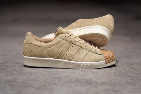 adidas Originals Brings Cork to the Superstar 80s