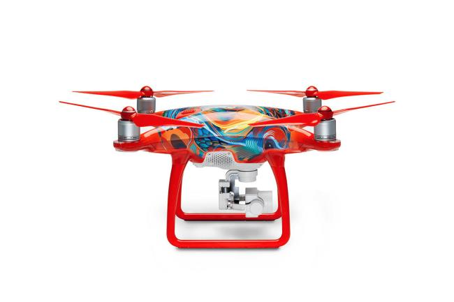 DJI CHINESE NEW YEAR LIMITED EDITION PHANTOM 4 DRONE