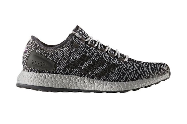 The adidas PureBoost Gets a Shiny New Silver Midsole