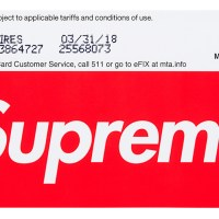 NYC MTA x Supreme MetroCards Being Sold at Stations